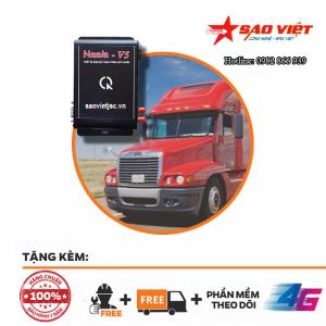 Hộp đen xe tải nasia V5 giá rẻ nhất Sài Gòn