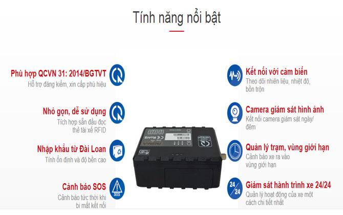 tính năng Hộp đen ô tô VietMap AT35