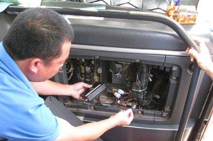 Cách lắp hộp đen ô tô