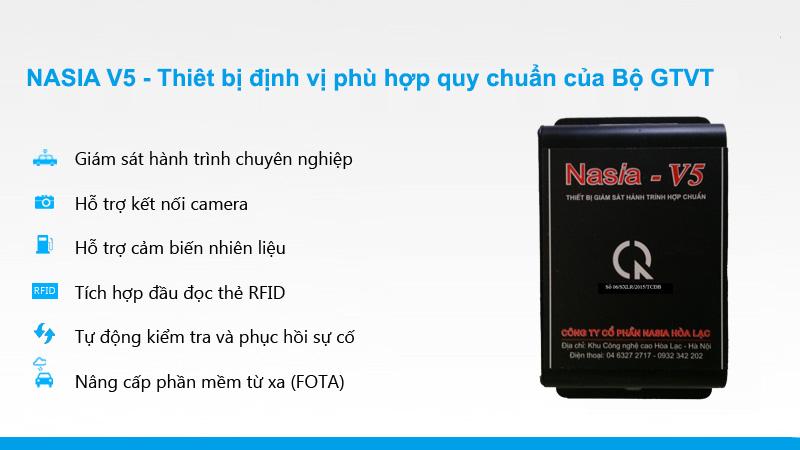Tính năng hộp đen ô tô Nasia V5