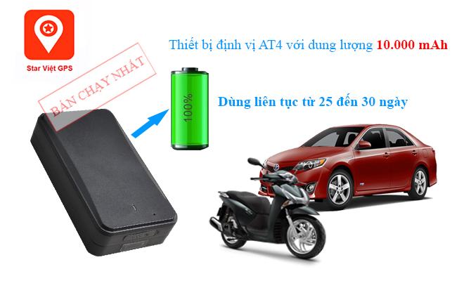AT4 pin khủng sử dụng liên tục lên đến 30 ngày