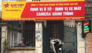 Thiết bị định vị xe máy Sao Việt