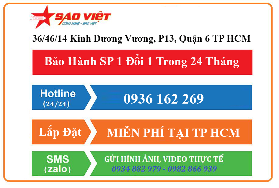 Liên hệ mua hàng tại Sao Việt