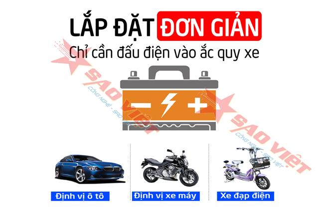 Gắn định vị ô tô - xe máy-xe điện tại Bạc Liêu